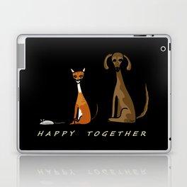 Happy Together - Black Laptop & iPad Skin