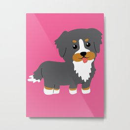 Bernese Mountain Dog Gifts Merchandise Products Collectibles Metal Print