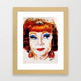 Agnes Moorehead Framed Art Print