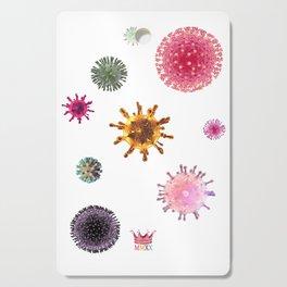 Virus Spores Cutting Board