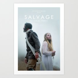 SALVAGE Poster Art Print