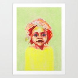 Les petites filles I.15 Art Print