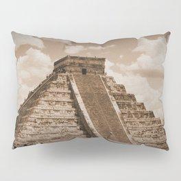 Chichen Itza Sepia Pillow Sham