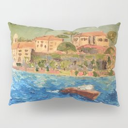 Bond House on Lake Como Pillow Sham