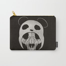Panda Skull Carry-All Pouch
