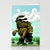 iron giant Stationery Cards featuring GIANT by Aaron Rossell