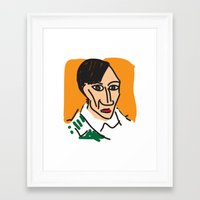 picasso Framed Art Prints featuring Picasso by John Sailor