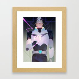 Black Paladin Framed Art Print