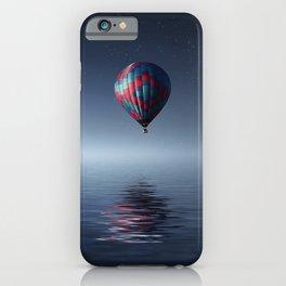 Hot Air Balloon Reflection iPhone Case