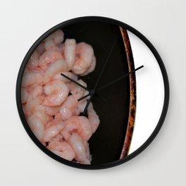 Shrimp Wall Clock