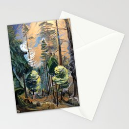 Emily Carr - Old Forest - Canada, Canadian Oil Painting - Group of Seven Stationery Cards