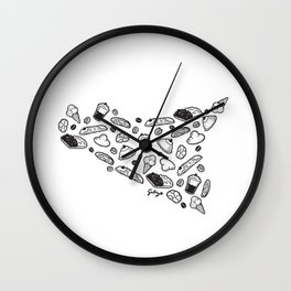 Sweet Sicily Wall Clock
