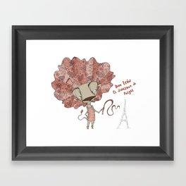 Mr Lion, The Tamer Framed Art Print