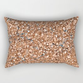 Vintage Marbled Texture - Organic Overdose Rectangular Pillow
