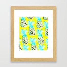 Pineapple City Framed Art Print