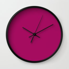 Jazzberry Jam Wall Clock