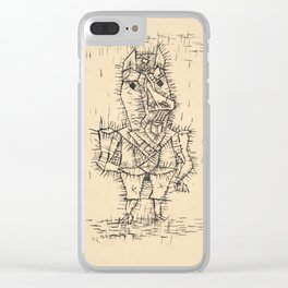 Ass (Esel) by Paul Klee, 1925 Clear iPhone Case