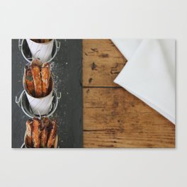 Sweet Potato Fries Kitchen Art Canvas Print