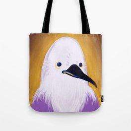 Sir McBirdly Tote Bag