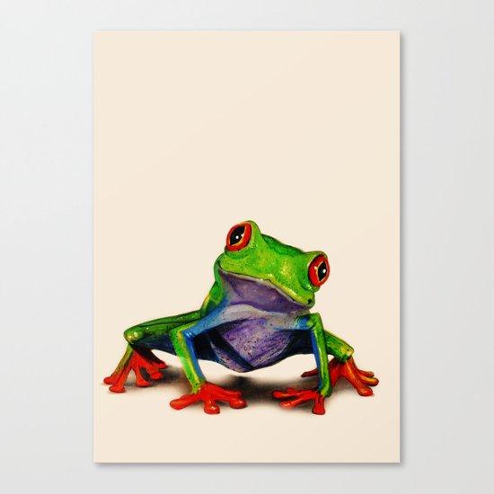 Mr. Ribbit Canvas Print
