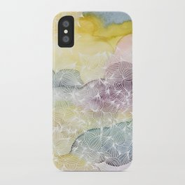 Dreaming in Lotus  iPhone Case
