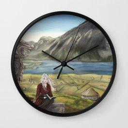 The Village   Woad Wall Clock
