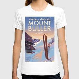 Mount Buller Australia Ski resort T-shirt