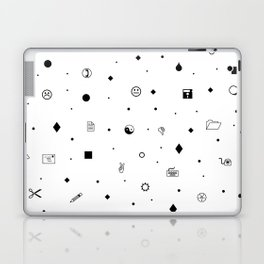 Wingdings Print Laptop & iPad Skin