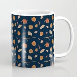 Bird House Fall Woodland Coffee Mug