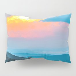 The Fiery Cloud Over the Mountains Pillow Sham