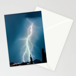 Glowing Static Charm Stationery Cards