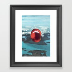 Talk Is Cheap Framed Art Print