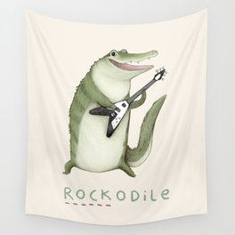 Rockodile Wall Tapestry
