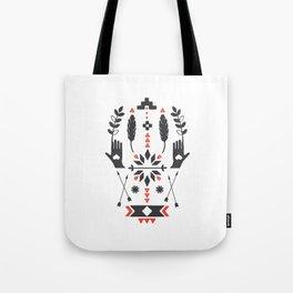 Norwegian Folk Graphic Tote Bag