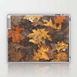 Feuille en hiver Laptop & iPad Skin