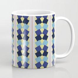 Fanned Squares Coffee Mug