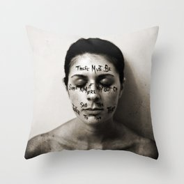 Some Kind of Way Throw Pillow