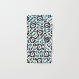 Arabic Tiles in Lisbon Portugal Hand & Bath Towel