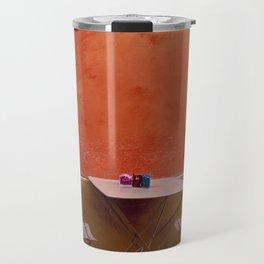 Colorful Cafe Travel Mug