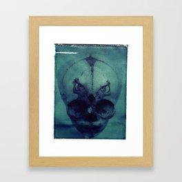X Ray Terrestrial NO. 8 Framed Art Print