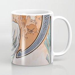 Alfons Mucha - For Art, Painting - Digital Remastered Edition Coffee Mug