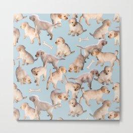 Too Many Puppies Metal Print