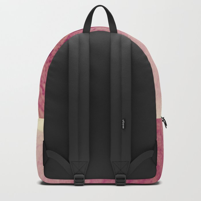 Close up Orchid #6 Backpack
