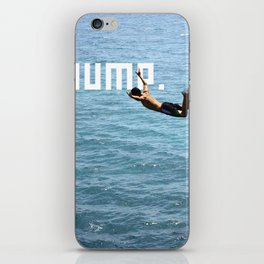 J.U.M.P. iPhone Skin
