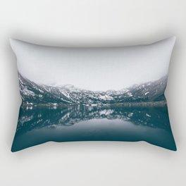 Alpine Lake Refletions Rectangular Pillow