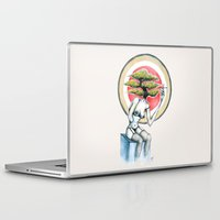 health Laptop & iPad Skins featuring Health by M. Adeline Nef