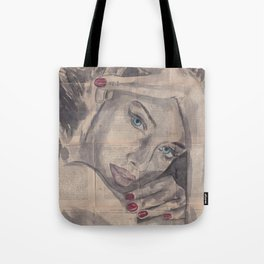 "Ink Painting ""Nelle"" Tote Bag"