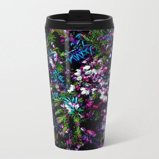 Daderica Texture Metal Travel Mug