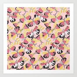 Bella Kaleidoscope Art Print