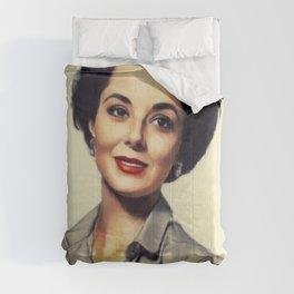 Dana Wynter, Vintage Actress Comforters